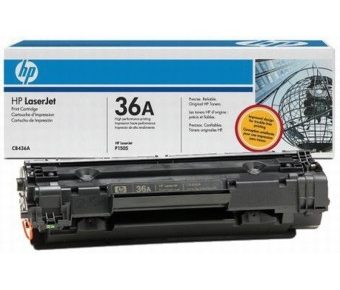 قیمت شارژ کارتریج لیزری hp 36A