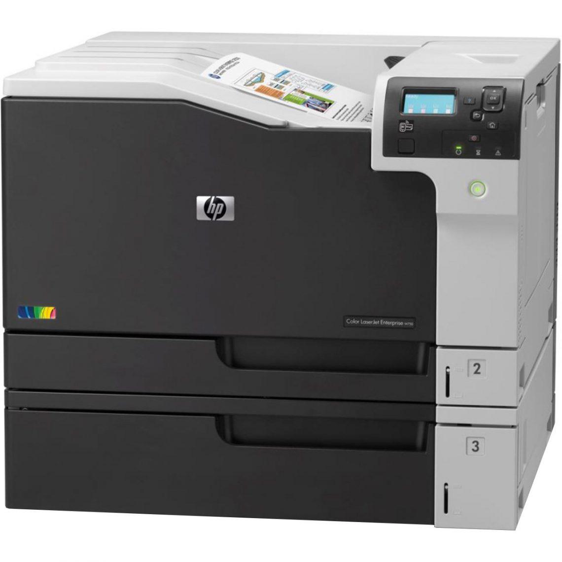 قیمت پرینترتک کاره لیزری رنگی HP M750 dn