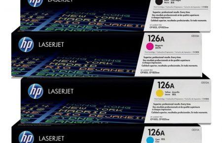کارتریج لیزری رنگی  hp 1025