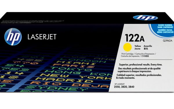 کارتریج لیزری رنگی hp 2550 2820 2840