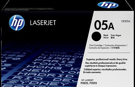 کارتریج لیزری سیاه و سفید HP 05a