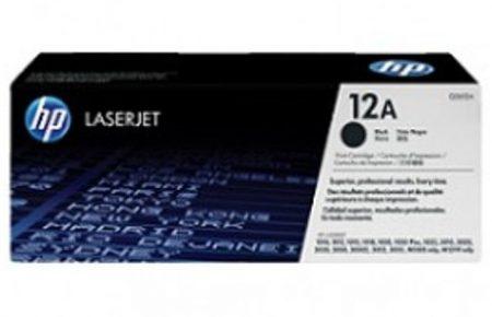 کارتریج لیزری سیاه و سفید  HP 12A