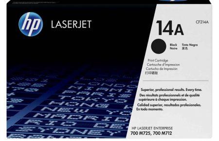 کارتریج لیزری سیاه و سفید HP 14a