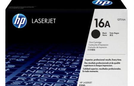 کارتریج لیزری سیاه و سفید  HP 16A