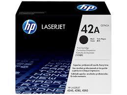 کارتریج لیزری سیاه و سفید HP 42A