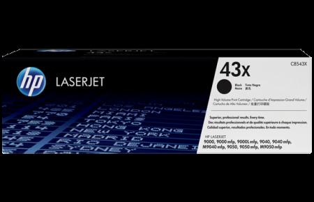 کارتریج لیزری سیاه و سفید HP 43X