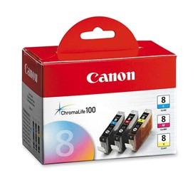 کارتریج کانن جوهری Canon CLI 8 CMY