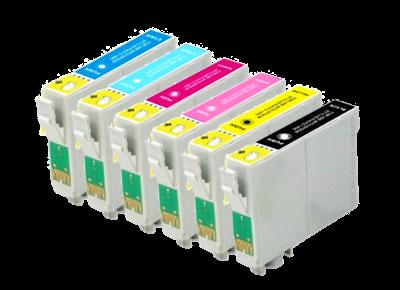 قیمت کارتریج جوهر افشان T0801-T0806  اپسون