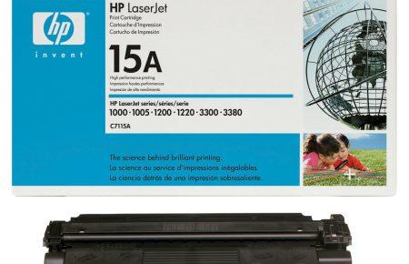 قیمت شارژ کارتریج لیزری hp 15A