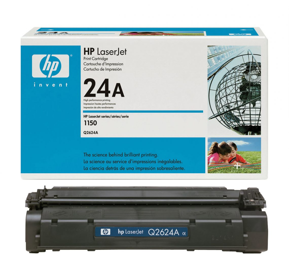 قیمت شارژ کارتریج لیزری hp 24A