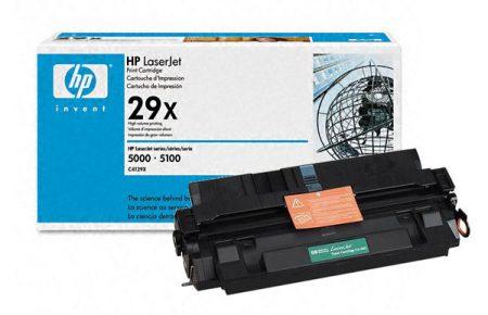 قیمت شارژ کارتریج لیزری hp 29X