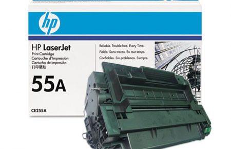 قیمت شارژ کارتریج لیزری hp 55A