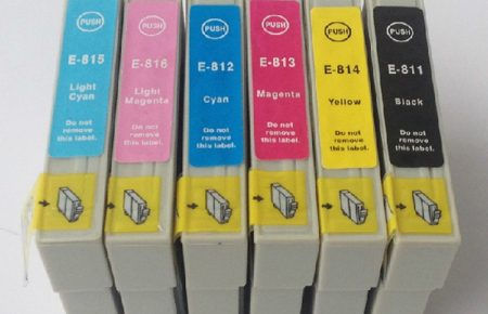قیمت کارتریج جوهر افشان T0811-T0816 اپسون