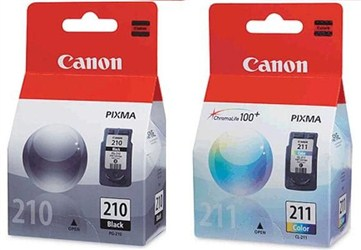 کارتریج جوهرافشان رنگی کانن CANON PG210-CL211 cartridge