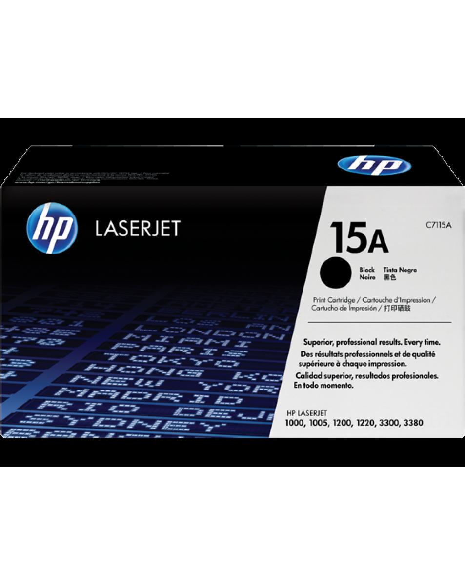 کارتریج لیزری سیاه و سفید HP 15A