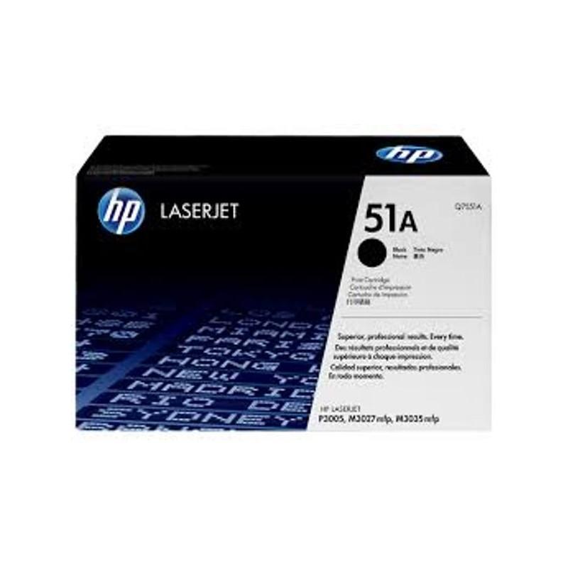 کارتریج لیزری سیاه و سفید HP 51A