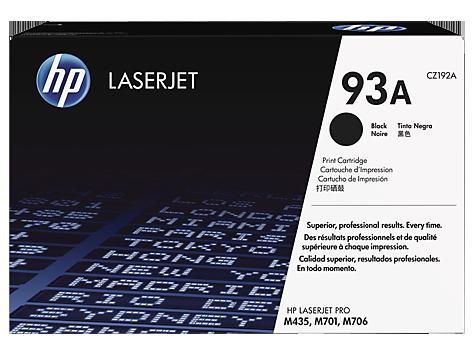 کارتریج لیزری سیاه و سفید HP 93a